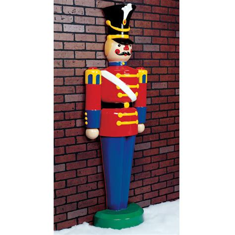 large christmas soldiers barcana 55 24015 119 half soldier prop 6 3 ft