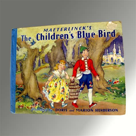 ruby the parakeet books maeterlinck s the children s blue bird vintage
