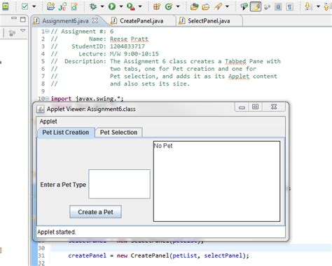 java swing browser why does my ui lose formatting when run in broswer vs r