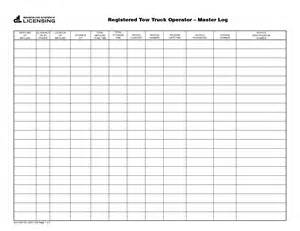 Truckers Log Book Template by Best Photos Of Truck Log Book Template Truck Driver Log