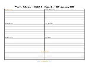 Weekly Printable Calendar Template by Printable Weekly Calendars Print Blank Calendars