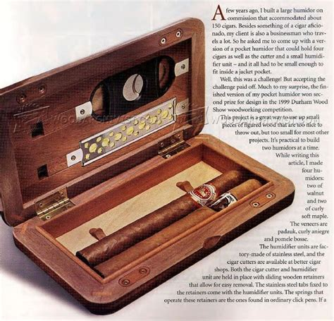 humidor woodworking plans 498 best cigar humidors images on