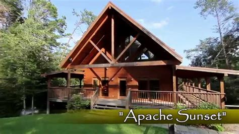 sunset cottages in pigeon forge quot apache sunset quot bluff mountain cabin near pigeon forge