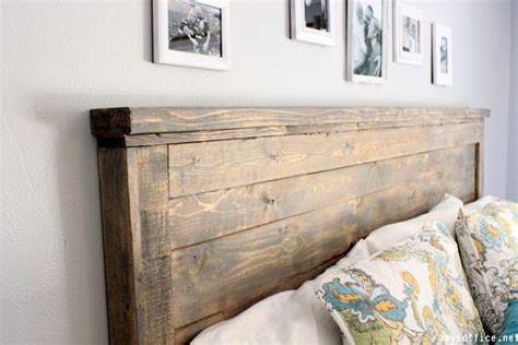 Wood For Headboard by Diy Wood Headboard Home Design