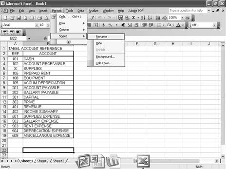 format membuat laporan keuangan cara membuat laporan keuangan di microsoft excel rock n
