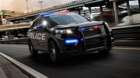 ford police interceptor utility  tires copelectric motor automobile magazine