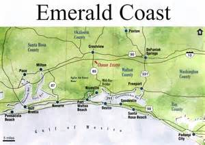 emerald coast florida map florida panhandle the free encyclopedia