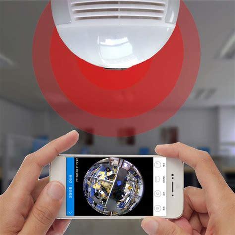 360 Degree Fisheye Hd 720p Motion Detection 360 degree fisheye panoramic hd 1080p wifi ir light bulb remote monitoring alex nld