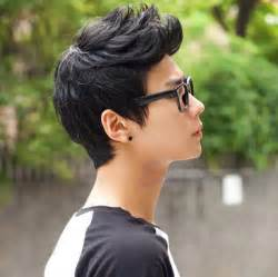 Mens Wig Vogue Sexy Korean Boys Handsome Short Hair Cosplay Male Full Wigs Black   eBay