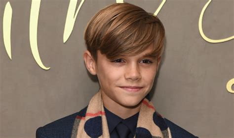 romeo beckham how old david beckham s son romeo beckham seeks mother victoria to