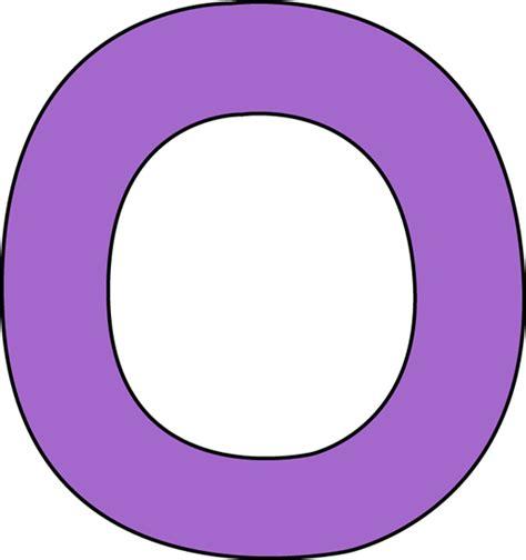 purple letter o clip art purple letter o image