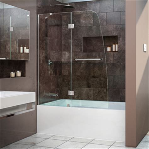 Ultra Modern Bathroom Vanities - tub doors tub screens tub glass doors tub frameless doors
