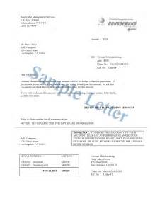 Letters To Debt Collectors Templates Debt Collection Letter Sample Sample Letter With Lucy Jordan