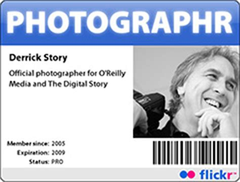 make your own photographer s id badge the digital story