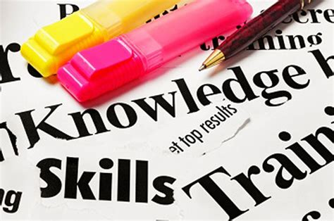 transform resume key skills and competencies on key job skills