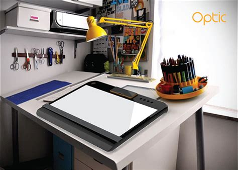 light up drawing table optic portable tracing and light table by pranali pradip