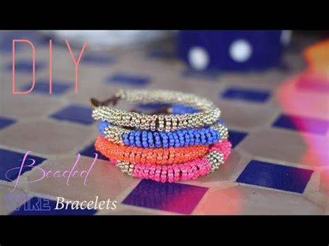 diy bracelets en perles de rocailles spirales beaded