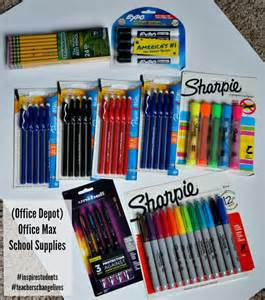 in home supplies organization tips for school supplies