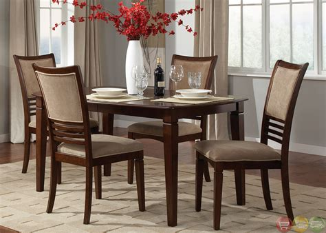 davenport amaretto finish casual dining room set