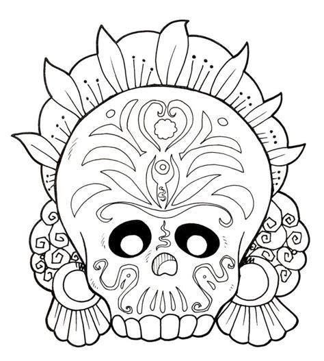 dia de los muertos coloring pages printable dia de los muertos coloring sheets dia de los muertos