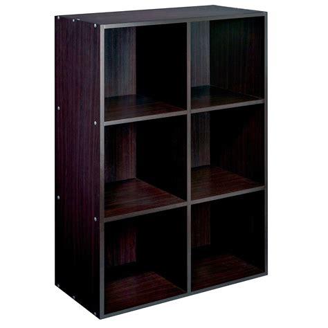 Cube Shelf Units by Essential Home 9 Cube Storage Unit Espresso Home