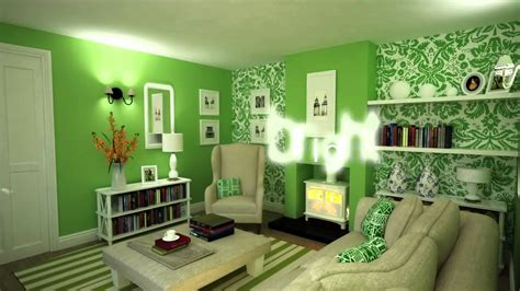 and green color combination colour schemes decorating with green