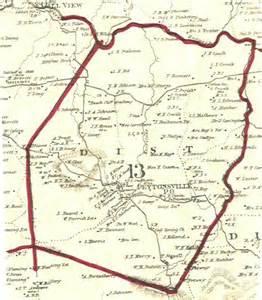 williamson co tn 1878 district 13 map