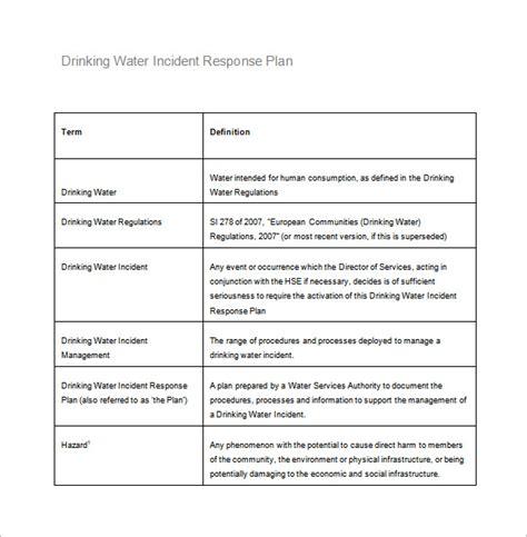 Incident Response Plan Template   sadamatsu hp