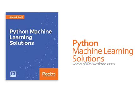 pattern recognition and machine learning solution manual pdf دانلود packt python machine learning solutions آموزش