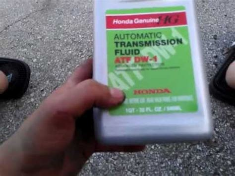 quot how to change transmission fluid on a 2008 honda accord 4