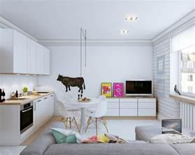 Small Apartment White Interior Come Arredare Un Monolocale Casa It