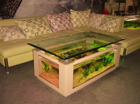 Fish Tank Coffee Table Awesome Fish Tank Ideas You Will Well Done Stuff