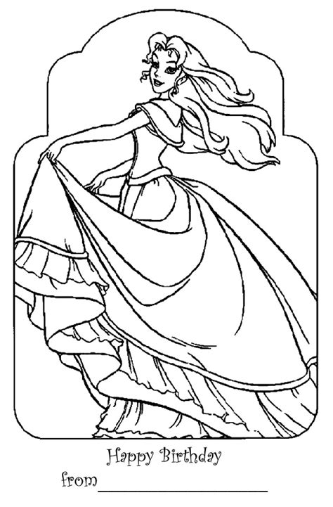 barbie birthday coloring page barbie coloring pages barbie happy birthday coloring page