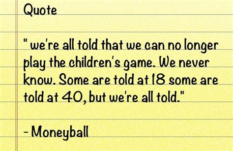 movie quotes moneyball quotes from the book moneyball quotesgram
