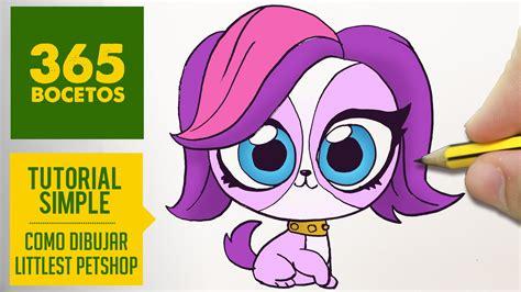 Como Dibujar Littlest Pet Shop Kawaii Paso A Paso Dibujos De Pet Shop Y Con Color