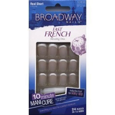 Broadway Nails by Broadway Nails Fast Nail Kit Real Bfd14