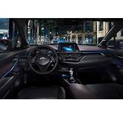 The Interior Of Toyota's Dramatic New Crossover Has Been Revealed