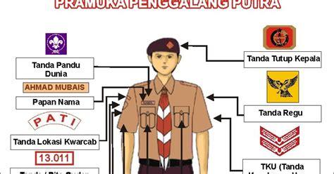Atribut Baju Pramuka Putra pramuka penabur smpk 6 pemasangan atribut tanda pengenal