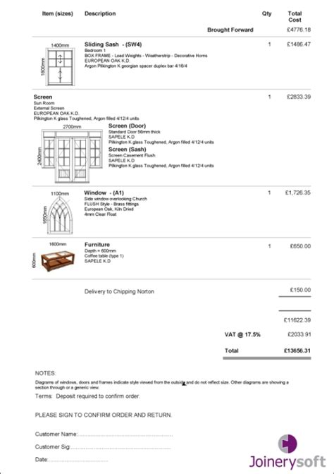 download joinery invoice template rabitah net