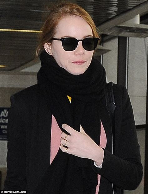 emma stone glasses emma stone dons sunglasses after girls night out with