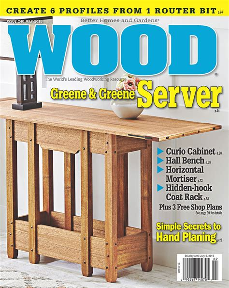 woodwork magazine wood magazine subscriptions renewals gifts