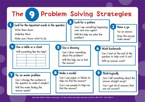 maths problem solving strategies bangkok patana school