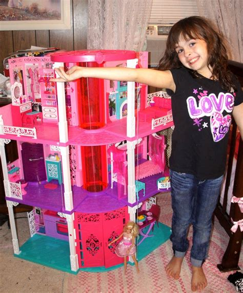 barbie dolls house with lift the new 2013 barbie dreamhouse video review