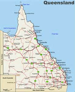 queensland highway map