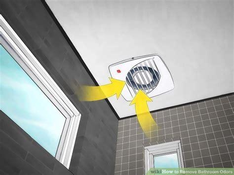 bathroom odor absorber 3 ways to remove bathroom odors wikihow
