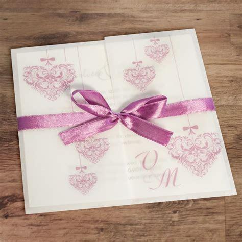 Einladungskarten Herz by Einladungskarte Hochzeit Vintage Herz