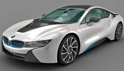 model bmw cars bmw i8 3d model free 3d models