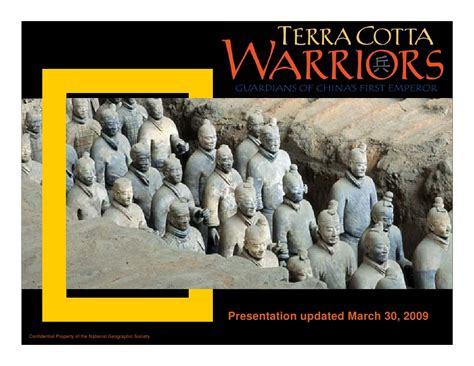 Geo Emperor Aftermarket terra cotta warriors exhibition at national geographic headquarters n