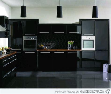 astonishing black kitchen cabinets home design lover