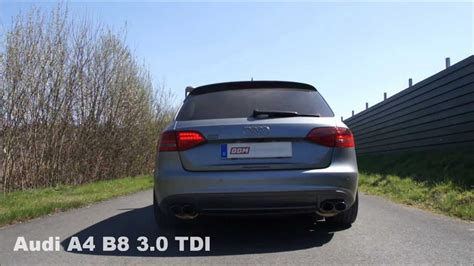 where are audi a4 made audi a4 b8 3 0 tdi exhaust auspuff made by bbm motorsport